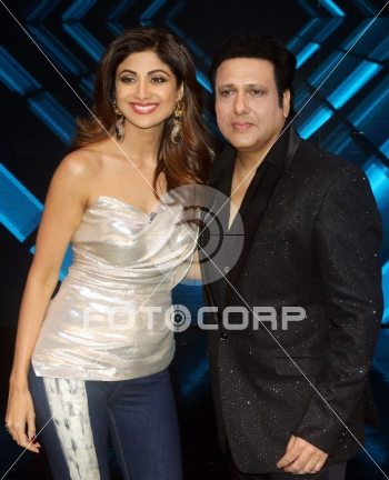 Fotocorp govinda shilpa shetty govinda and raveena tandon on the govinda shilpa shetty altavistaventures Choice Image